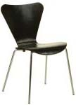 Ant chair wood seat